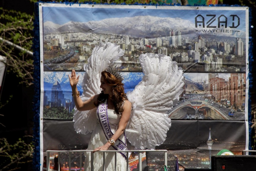 modern Tehran? Angel?