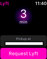 Lyft works just with WiFi!